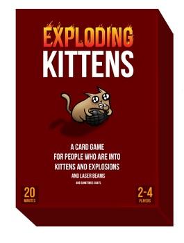 exploding kittens virselis