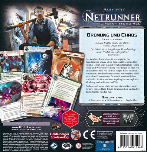 netrunner order and chaos dugnas