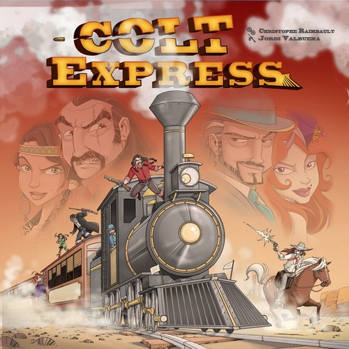 colt express virselis
