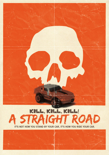 straight road virselis