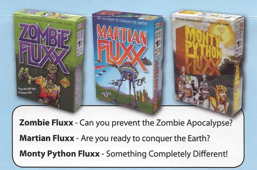 zombie fluxx trio