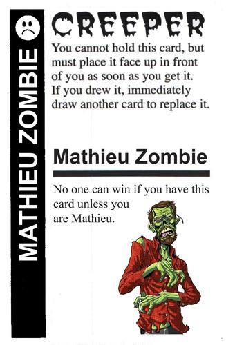 zombie fluxx zombis