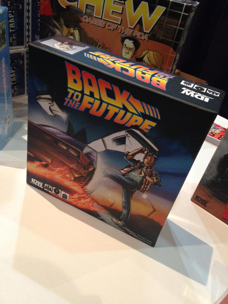 back to future box
