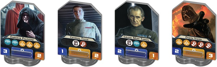 Rebellion imperijos lyderiai