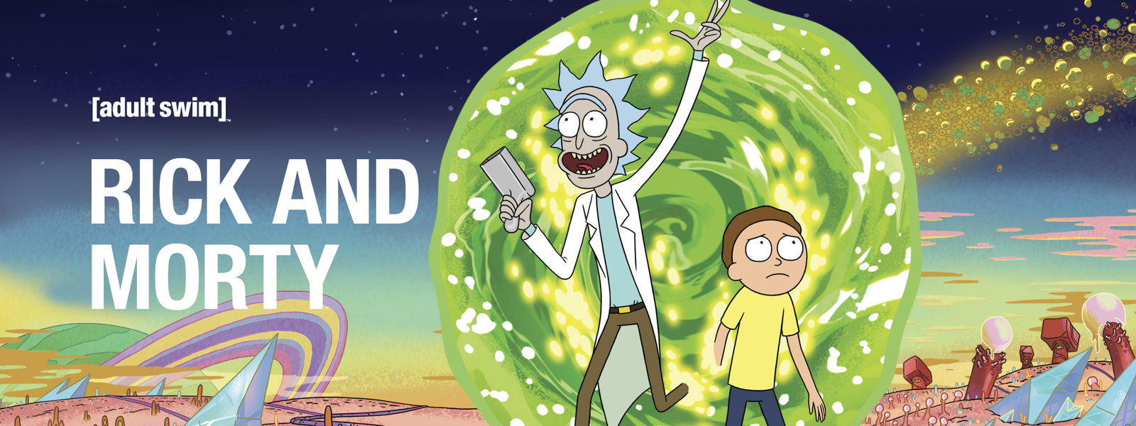 rick and morty serialas