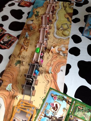 colt express traukinys ish virshaus